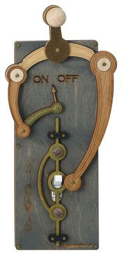 Toggle Switch Plate From Eclectic Switchplates