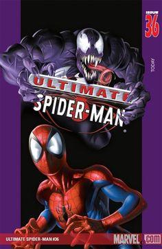 #Ultimate #Spiderman #Fan #Art. (Ultimate Spider-Man, Vol. 36: Venom 3D) By: Mark Bagley. (THE * 5 * STÅR * ÅWARD * OF: * AW YEAH, IT'S MAJOR ÅWESOMENESS!!!™)[THANK Ü 4 PINNING!!!<·><]<©>ÅÅÅ+(OB4E)