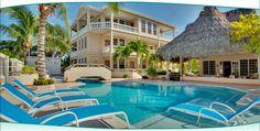 Iguana Reef Inn seaside resort hotel - Photo Gallery - Caye Caulker, Belize - We spent the first week of our honeymoon here.