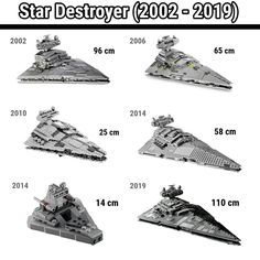 🇱🇷 [SWIPE] All LEGO Star Wars Star Destroyers (2002 - 2019)! Which one is your favourite? . 🇩🇪 Alle LEGO Star Wars Sternenzerstörer (2002 -… Star Wars Art, Lego Star Wars, Star Trek, All Lego, Chocolate Art, Which One Are You, Lego Super Heroes, Star Destroyer, Lego Moc