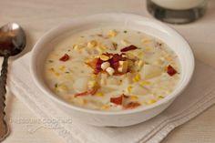 Fresh Corn Chowder in the Pressure Cooker Recipe   Pressure Cooking Today