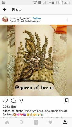 Indian Mehndi Designs, Mehndi Designs 2018, Mehndi Designs For Beginners, Stylish Mehndi Designs, Mehndi Design Pictures, Henna Designs Easy, Beautiful Mehndi Design, Mehndi Designs For Hands, Henna Tattoo Designs