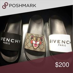 368c66796 Gucci Givenchy Slides 2017 SALE Bundle Deals or separate Many sizes  available Text 404-602