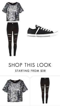 """Untitled #184"" by sierrapalmer10 on Polyvore featuring H&M, River Island and Converse"