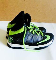 Nike Stutter Step SZ 5 Black Green  #Nike