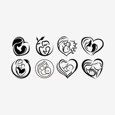 Breast Feeding Vector Sign Mother Holding Newborn In Arms Symbol Of Woman Breastfeeding Mother Breastfeeding Her Stylized Symbol Vector and PNG Icon Design, Logo Design, Mother Tattoos, Baby Tattoos, Breastfeeding Tattoo, Baby Tattoo Designs, Tattoo Mutter, Finger Rose Tattoo, Adobe Illustrator