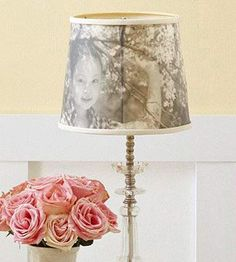 photo transfer lamp shades