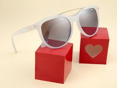 Your love should be as bold as your Vogue Eyewear Sweet Side sunglasses.