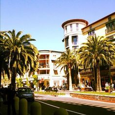 Beautiful day @ Santana Row! 4/22/12