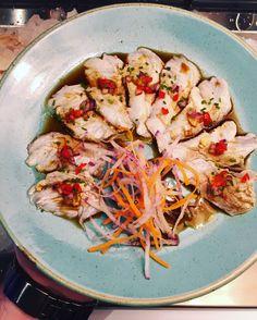Seabass new style sashimi