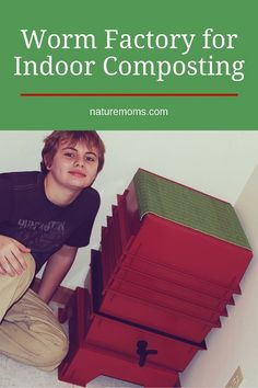 Worm Factory for Indoor Composting