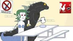 Godzilla vs. The Girls School of Mystery - Rooster Teeth Animated Advent...