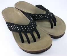 c26fbfb1e890e6 Wellrox Sandals Womens Size 11 Santa Fe Mila Slides Flip Flops