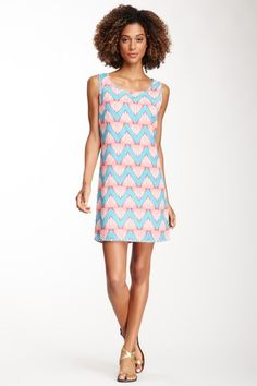 Zigzag Sleeveless Dress by Peach Love Cream California on @HauteLook
