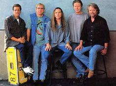 Glenn Frey, Joe Walsh, Timothy Schmit, Don Henley & Don Felder 1996 Eagles Music, Eagles Lyrics, Eagles Band, Great Bands, Cool Bands, Eagles Take It Easy, History Of The Eagles, Glen Frey, Randy Meisner