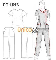 CONJUNTO TRABAJO MUJER Scrubs Uniform, Scrubs Outfit, Maid Uniform, Scrubs Pattern, Beauty Uniforms, Restaurant Uniforms, Medical Uniforms, Medical Scrubs, Cape Coat