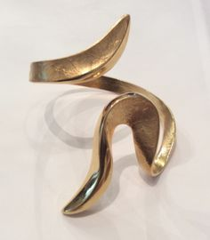 Gold Plated Cuff by Eleftheriou Jewelry on Soboye.  Gold plated metal.