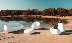 'Stones' outdoor furniture by Vondom