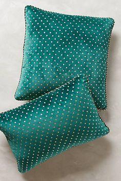 Dotted Velvet Pillow