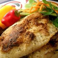 Pan Fried Halibut fr