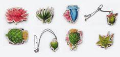 renewed Klimt02 profile... https://klimt02.net/jewellers/annamaria-mikulik  new collection .... BOTANY material: leather, metal, paint, 24 carrat gold foil year: 2017 Autor: Annamaria Mikulik  #contemporary #jewellery #annamaria #mikulik #botany #art #slovakia #nature #flowers #borooch #necklace #art #ammariel#Klimt02 #barcelona #annamaria #mikulik #contemporary #jewellery #botany #nature #art #slovakia