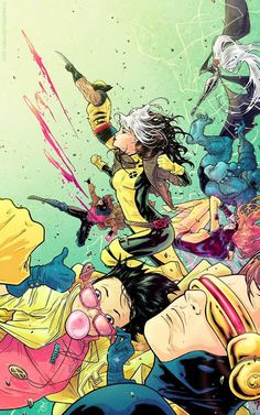 X-Men by Russell Dauterman