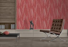 Red, the colour of fire and blood, a colour that ignites an array of emotions. From feelings of passion to associations with aggression and even danger. This is a perfect accent colour. Colors Of Fire, Barcelona Chair, Accent Colors, Wallpaper, Blood, Passion, Colour, Furniture, Feelings