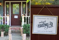 """Backyard """"Baby-Q""""! So cute. I love everything about this party. Makes me want to go back to party planning."""
