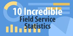 These field service statistics can help you understand the industry – and your business – better. Whether we're talking about customers, technology, or employees, there's a statistic to give you a better view of the world.
