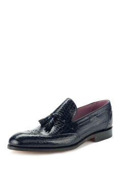 Midnight Tassel Loafers