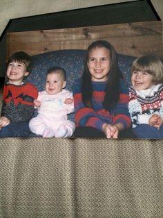Baby Evans (Chris, Scott, Carly & Shanna).