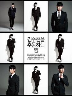 Kim Soo Hyun - SIngles Magazine April Issue '14