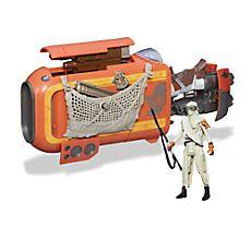 Rey's Speeder (Jakku) - Star Wars: The Force Awakens