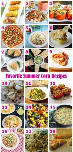 Recipe Roundup: Our Favorite Summer Corn Recipes #summer #recipes