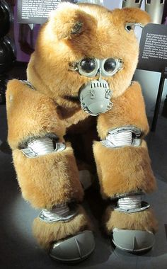 """Muffit II (Evolution """"Evie the Chimp"""") - Battlestar Galactica 70s Tv Shows, Sci Fi Tv Shows, Movies And Tv Shows, Kampfstern Galactica, Battlestar Galactica 1978, Nostalgia, Sci Fi Movies, Geek Out, Old Tv"""