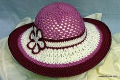 Be-A-Start-Child's-Sun-Hat-Free-Crochet-Pattern-Berroco-Comfort-DK by JessieAtHome, via Flickr