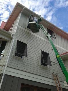 #bermuda #shutters #plantationshutters #windows #blinds #shades Bermuda Shutters, Urban Design, Carpentry, Blinds, Beach House, Shades, House Design, Windows, Beach Homes