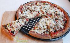 Pizza Tarifi ( Sebzeli )