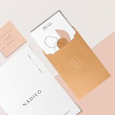 Continuing from my last post here's a little sneak peek on how we will be using Nadieo's branding elements 👌 Logo Design, Print Design, Branding Design, Design Design, Creative Design, Custom Design, Collateral Design, Stationary Design, Printed Portfolio