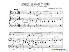 Noten - PATER BROWN THEMA (DAS SCHWARZE SCHAF) - Musiknoten