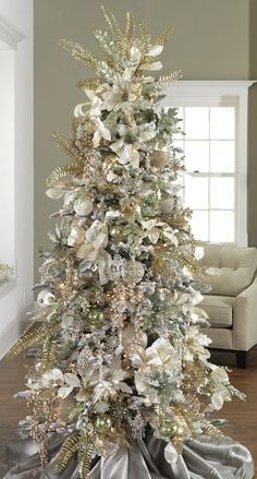 60 gorgeously decorated christmas trees from raz imports style estate