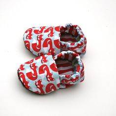Fox Organic Baby Shoes 0  3 months Eco Friendly by GrowingUpWild, $28.00