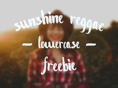 Great work by Dima Mukhin on this Sunshine Reggae lowercase brush pen font! Free Typeface, Brush Font, Lowercase A, Reggae, Creative Design, Sunshine, Fonts, Typography, Quotes