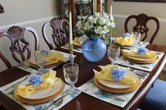 Creating a Beautiful Easter Tablescape on a Budget - Belle Bleu Interiors