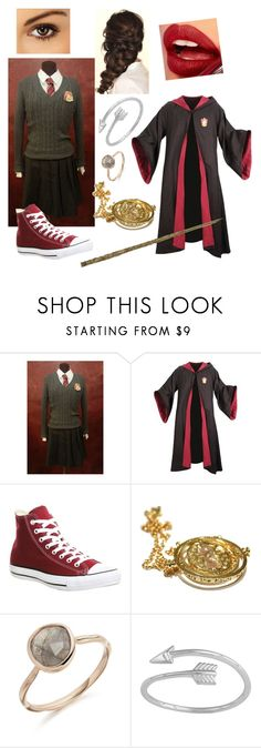 """Transfiguration"" by gryffandclaw ❤ liked on Polyvore featuring Converse, Disney and Fiebiger"