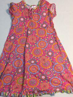 Hanna Anderson Girls Dress 140 100% Cotton  | eBay
