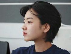 Asian Short Hair, Asian Hair, Girl Short Hair, Short Hair Cuts, Tomboy Hairstyles, Pretty Hairstyles, Lee Joo Young Hair, Mullet Hairstyle, Korean Short Hairstyle