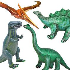 Dinosaurs Set Of 4, $38, now featured on Fab.