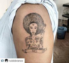 #Repost @ruidobranco with @repostapp  A melhor parte de tatuar é poder deixar em…