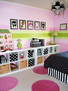 Fun idea for an accent wall in a kids room or play room. Description from pinterest.com. I searched for this on bing.com/images